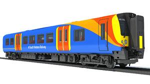3D british rail class 450