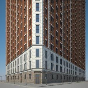 skyscraper highrise model