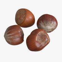 Unshelled Hazelnuts