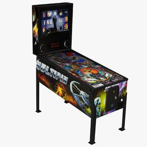 3D pinball machine