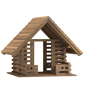 playground house 02 3D model