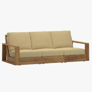poolside sofa 3D