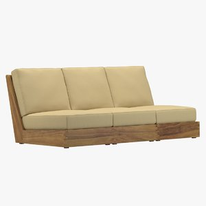 poolside terrace sofa model