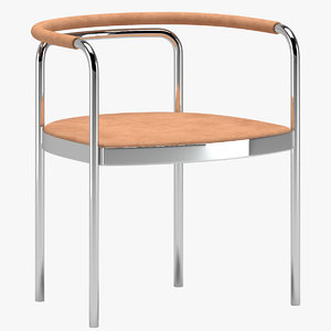 3D poul kjaerholm chair model