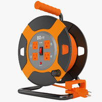 power reel outdoor 3D model