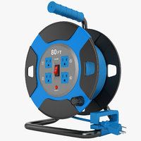 power reel outdoor 3D