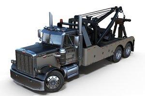 3D wrecker pbr model