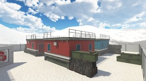 3D environment iceworld model