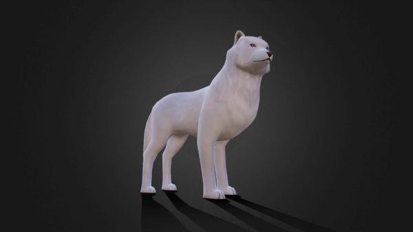 rig animation 3D model
