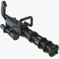 3D m132 micro gun classic model