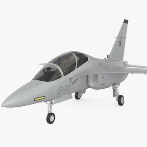 alenia aermacchi m-346 3D model