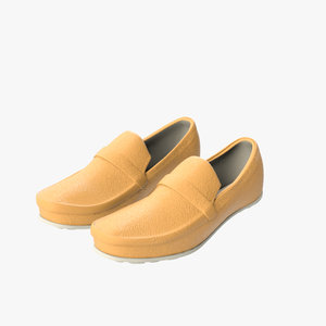3d model driving shoes