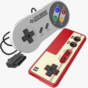 nintendo joystick 3D model
