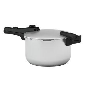 pressure cooker cook 3D