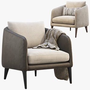3D rhys bench seat chairs