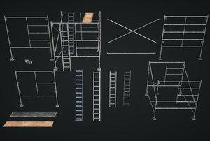 3D model construction details modular