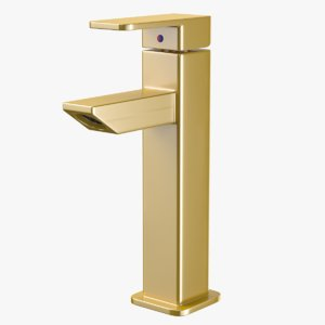 3D model bathroom faucet luxury