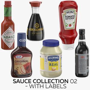 3D sauce 02 - labels