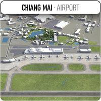 3D chiang mai international airport