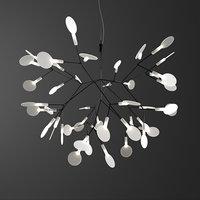 heracleum ii small chandelier 3D