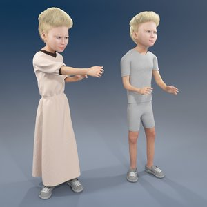 3D girl arab rabic