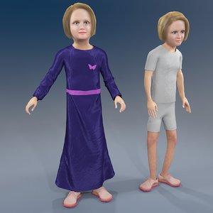 3D girl arab rabic model