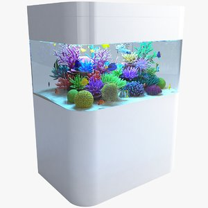 3D model aquarium 05
