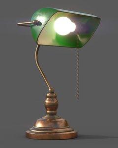 3D banker light model
