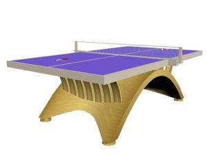 3D table tenis