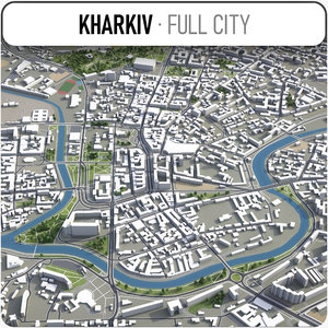 3D kharkiv surrounding -