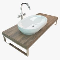 Washbasin Plate 031