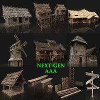 3D gen aaa village