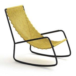 3D flow garden armchair living