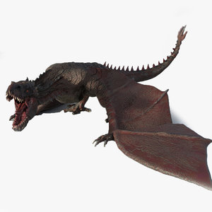3D model wyvern rex games