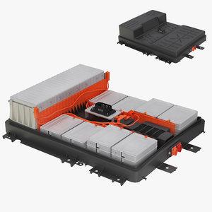 3D car battery