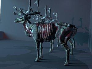 hungry deer 3D model