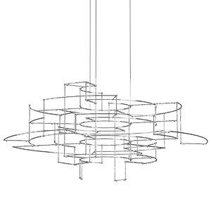3D quasar holland spectre chandelier model