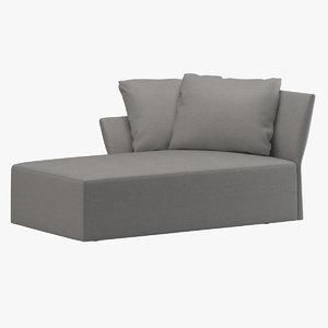 3D model redaelli chaise