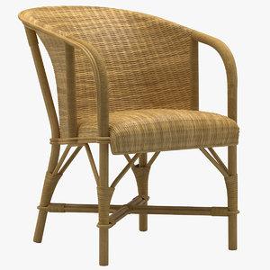 renzo mongiardino lisippo chair 3D