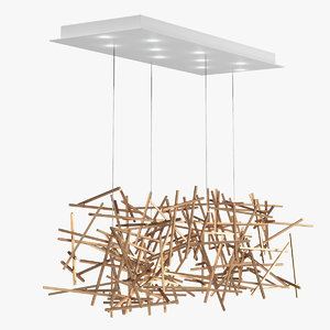 ridgely studio criss cross 3D model