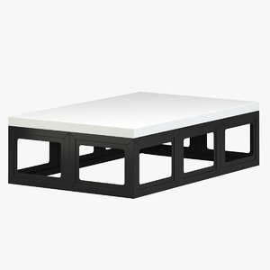3D robert kuo coffee table model