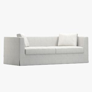 roccoa sofa 3D model
