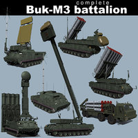 SA-17 Buk-M3 battalion