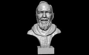 3D model padre pio da