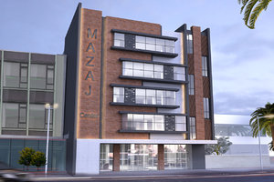 multi-storey building model
