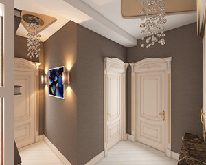 3D hall nterior design elman