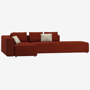 roda dandy sofa terrace 3D