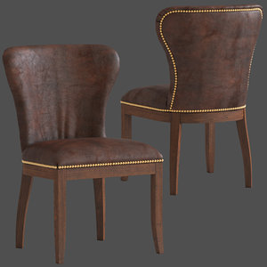 coco republic richmond chair 3D model