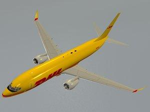 boeing 737-800bdsf dhl 3D model