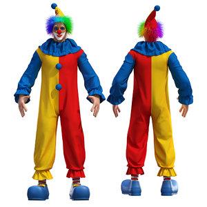 clown 3D